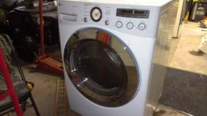 New LG washer and dryer