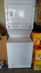 Kenmore washer/dryer stacked combo